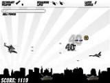 Игра - в которой Вашей задачей является в первую очередь выжить, а уж затем уничтожить воздушный и наземный аресенал противника. В вашем распоряжении последнее достижение  техники - маневренный вертолет с лазерным прицелом.
