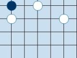 Целю игры являеься то, что вам предстоит сыграть в настоящую японскую игру Гомоку. После запуска игры перед вами появится стол, разделенный на клеточки. Играя с соперников Вам необходимо будет поочередно ставить по одной фишке на стол, тем самым вам нужно помешать вашему сопернику построить нужную комбинацию раньше, чем вы.