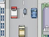 В этой игре Вам придется гонять на своем байке по оживленной улице. Но большинство автомобилей едут очень медленно и вам придется их объезжать и уворачиваться от столкновений. Управление осуществляется при помощи компьютерной мыши.