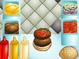 В этой игре Вам не просто придется готовить еду. Вам придется по памяти использовать ингредиенты, еще и в правильном порядке. Так что не думайте, что бургер - это очень просто.