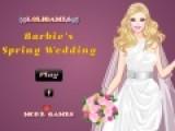 Перед тобой отличная игра одевалка, в которой ты должна помочь Барби подобрать самый лучший свадебный наряд, для свадьбы, которая пройдет в середине весны. Постарайся создать самый нежный образ для красивой девушки.