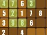 Перед Вами классическая математическая игра судоку. Ее цель заполнить все пустые клеточками цифрами от 1 до 9. Одна и та же цифра не может повторяться в одной линии дважды.