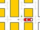 Попробуйте доехать от начала до конца города по лабиринту не нарушая правила дорожного движения. Для этого используйте указатели на трассе.