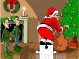 Собираем новогодний пазл про Санту Клауса и эльфов, в конце которого увидим как Санта Клаус оконфузился.
