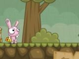 В этой игре зайчик станет настоящим героем. Он будет спасать раненых на войне и переносить их в госпиталь для дальнейшего лечения. Помогите зайчику пройти все уровни как можно быстрее.