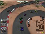 Захватывающие гонки на картингах в 3 игровых режимах на 10 трассах против 11 соперников! После выигрыша заезда открываются новые трассы и возможности. В конце ждет бонусный зеркальный режим и уникальный автомобиль!