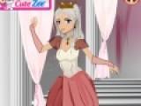 Помогите нашей принцессе собраться на свидание с принцем. Подберите ей красивую прическу, сделайте макияж достойный королевы. Не забывайте про аксессуары.