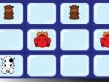 В данной игре вам предлагается проверить свою память. Ваша задача будет  заключаться в том, что среди предложенных перевернутых карт вам будет необходимо постараться найти пары.
