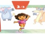 Перед Вами отличная развивающая игра для детей про Дашу путешественницу. Цель игры угадать какую тень отбрасывает персонаж изображенный на картинке.