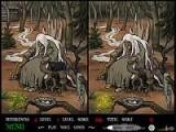 Игра повествует о жизни ведьминого сына. Он долгое время живет с ней в лесу, но вдруг однажды, встречает прекрасную крестьяночку, с которой заводит дружбу. А что было дальше, вы узнаете, если сможете найти все отличия, на каждой из страниц-иллюстраций.