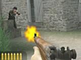 В этой игре Ваша цель убить как можно больше стреляющих в вас солдат. Для этого используйте свою мышь. Чтобы посмотреть влево или в право, используйте клавиши A и D.