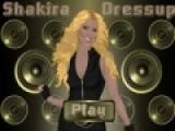 Почувствуйте себя настоящим стилистом. Попробуйте подобрать концертный костюм для певицы Шакиры. Все должно быть идеальным и макияж и прическа, что бы фанаты еще больше полюбили певицу.