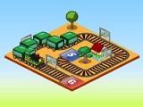 Спроектируйте железную дорогу, которая пройдет от начальной до конечной точки через все станции. Следите за индикатором батареи, которая используется локомотивом. После проектирования нажмите кнопку Go, чтоб запустить состав.