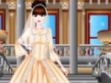 Эта игра понравится девочкам. Ведь будущие невесты начинают мечтать о свадебных платьях с самого раннего возраста. В этой игре одевалке нужно подобрать свадебный наряд в викторианском стиле для очень красивой девушки.