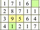 Перед Вами логическая математическая игра головоломка. Ваша задача очистить игровое поле заполненное цифрами за ограниченный промежуток времени. Что бы убрать цифры, Вам нужно будет считать их суммы. В правом верхнем углу игрового поля будет указано число. Ваша задача кликнуть правой кнопкой мыши на цифры, которые дадут в сумме это число. После каждого правильного ответа требуемое число будет меняться.