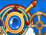 В этой игре Вам предстоит очистить игровое поле от цветных шариков. Для этого стреляйте из волшебной пушки. Когда шарики одного цвета образуют группу из трех и более, они лопнут как пузыри.