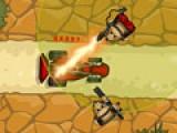 В этой игре вы будете командиром армии сурикатов. Используйте всю военную мощь своей армии, что бы не пропустить врага. Не дайте броневикам преодолеть Ваш защитный фронт.