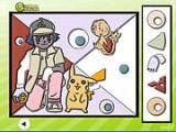 В этой игре из серии Покемонов Вам нужно вставить недостающие фрагменты картинки на свои места.