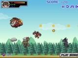 В этой игре вы играете за персонажа Dragonoid Pyrus более известного по имени Драко вместе с Дэном. Придется летать и пулять по врагам сгустками энергии и использовать суперспособности, которые помогут эффективнее расправиться с соперником!