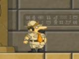 Прикольная и очень увлекательная игра бродилка перенесет Вас в мир мумий и египетских сокровищ. Ваша задача собирать золото и ключи от потайных комнат. Управляйте персонажем игры бродилки при помощи стрелок и пробела. Отправляйтесь искать незабываемые приключения.