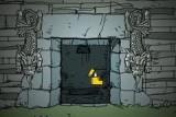 Классический квест. Приключения в храме, затерянном в джунглях Южной Америки. Управление мышью.