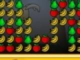 Прикольная игра головоломка понравится любителям обдумать каждый свой ход. Цель этой игры головоломки убрать с игрового поля все фрукты. Что бы играть, используйте свою мышь.