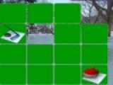 Эта игра про зимние виды спорта проверит Вашу зрительную память. Цель  игры убрать с игрового поля все зеленые карты. Для этого нужно открывать карты с одинаковыми рисунками.
