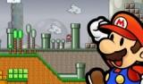Теперь в мире Марио начали действовать законы физики. Можно двигать ящики, использовать транспорт - машины, реактивные ранцы и вертолёты! Помогите ему скорее привыкнуть к новым условиям!