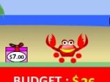 Красный краб отличный собиратель. Помогите собрать ему максимальное количество предметов! Управление игрой очень простое. При помощи Вашей мыши краб совершает прыжки!