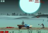 Зомби грузовик - игра про парней, которые хотели перекусить в баре, но откуда-то взявшиеся зомби испортили им трапезу. Пришлось захватить грузовик и сматываться из этого опасного места!