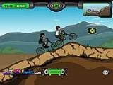 В этой игре Вы выступаете в роли Ben 10 и ездите по холмам на велосипеде. Кроме этого Вы соревнуетесь со своим соперником в скорости.