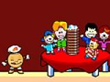 В этой игре Вам необходимо словить все блинчики и принести их голодной детворе. Но это не так то просто. По дороге вы можете встретить кровожадных блинопоедателей.