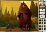 В этой игре Вы займетесь поиском цифр на картинках с персонажами известного мультфильма Сезон Охоты.