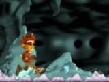 Помогите мальчику пройти всю пещеру и собрать все черепа. Но будьте внимательны и не провалитесь в яму. Управление этой игрой осуществляется при помощи Вашей мыши.