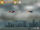 Железный человек воздушный поединок -  спасите девушку захваченную в плен. Чтобы ее спасти надо долететь до конца, но это не просто. Вас атакуют враги которые способны тоже летать, да и с земли по Вам ведут ураганный огонь.