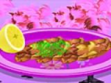 В этой игре Вам предстоит научиться готовить отбивные в панировке. Для этого в точности выполняйте все инструкции повара.