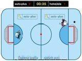 Пинг-понг между двумя хоккейными вратарями. Защищайте свои ворота и забивайте побольше сопернику.