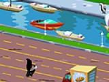 В этой игре Вы должны помочь скунсу добраться через оживленную трассу к своей любимой. Не дайте попасть ему под автомобиль. Затем переберитесь через реку. Но скунс не умеет плавать. Потому придется перепрыгивать с корабля на корабль. На что не пойдешь ради любви?!