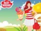 Эта игра для девочек про одевалки. В ней Вы сможете подобрать наряды на каждый день. Это могут быть модные платья или брюки, но не забудьте дополнить образ стильной прической.