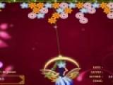 Волшебный сад по принципу игра напоминает классическую игру про пузыри. Фея должна стрелять цветами из волшебной пушки. Когда одинаковые цветы соберутся в группу они лопнут, как пузыри. На дайте цветам заполнить все игровое поле.
