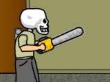 В данной игре вы управляете человеком с черепом вместо головы. Ваша задача - постараться разрезать бензопилой все преграды.