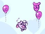 Помоги летающему ангелочку лопнуть все шарики. Используй для этого мышку. Постарайся не пропустить ни один шарик.