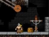 Перед Вами увлекательная игра про отважного героя, который путешествует по подземным темницам и собирает золото. Ваша задача помочь ему преодолеть все опасные препятствия. Для этого используйте стрелки на вашей клавиатуре и кнопку пробел.
