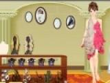 Перед Вами превосходная игра для девочек, в которой юные модницы смогут подобрать самый модный и нежный наряд для симпатичной принцессы. Пусть она будет одета очень нежно.