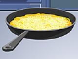 Эта игра для девочек, которые считают, что готовить еду просто и неинтересно. Попробуйте приготовить вкусный омлет по всем правилам в этой игре про кулинарию и возможно результаты Вас очень удивят.