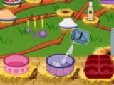 Перед Вами отличная игра для девочек, которые любят готовить еду. В этой игре симпатичный кролик научит их как сделать яблочные маффины. Если Вы будете следовать всем его указаниям и не отступать от рецепта, то вы получите очень вкусные и нежные кексы.