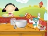 В этот раз Эмма научит Вас готовить вкуснейший десерт из блинчиков. Так что отправляйтесь в магазин. Купите все необходимые продукты, которые посоветует Эмма. И выполняйте все ее инструкции.