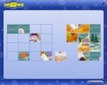 Забавный пазл на тему популярных Смешариков. Соберите картинку, перетаскивая ее фрагменты в игровую область. Управление - мышь.