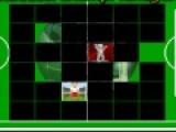 Если Вам нравится футбол и логические игры, предлагаем сыграть в игру, которая проверит Вашу память. Цель игры очистить футбольное поле от перевернутых карт. На обороте карт находятся рисунки футбольной тематики. Переворачивайте карты с одинаковыми рисунками, что бы они исчезли.