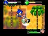 Новые пошаговые драки с участием Супер Соника! В арсенале у Соника новые магические приемы, суперудары, приемы защиты и эликсиры для восстановления здоровья.